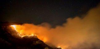 Incendio Piemonte
