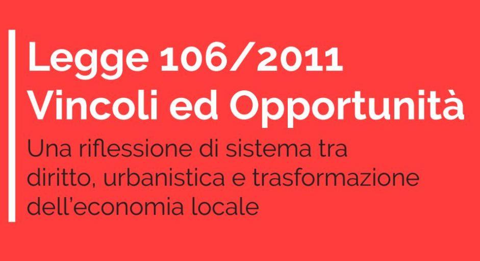 Incontro legge 106/2011