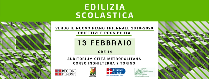 Edilizia Scolastica 13 febbraio banner