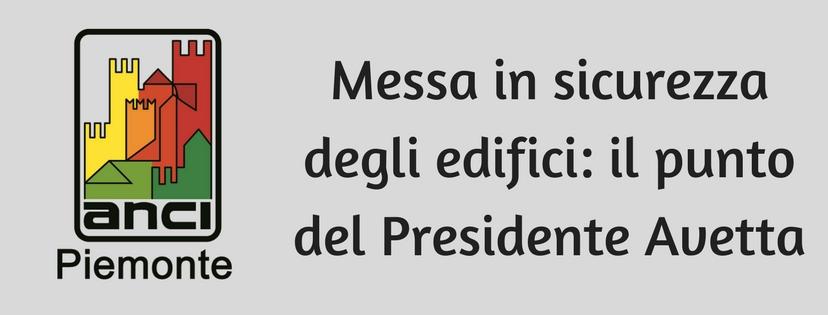 Viminale sblocca contributi, commento Presidente Avetta