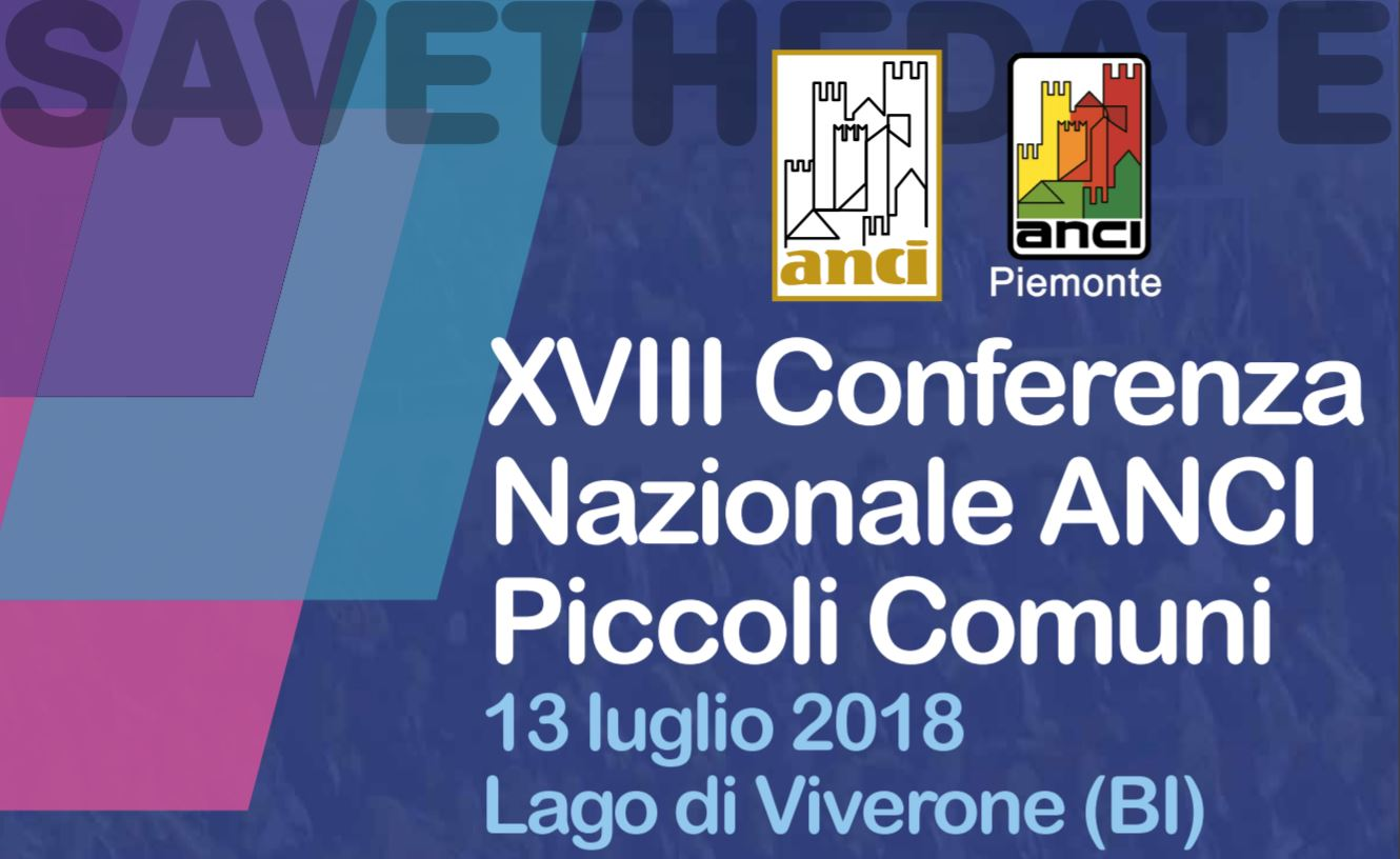 Save the date Piccoli COmuni