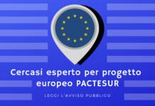 Avviso progetto Pactesur