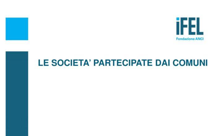 Ifel - Le società partecipate dei comuni