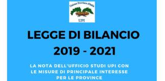 Bilancio UPI 2019