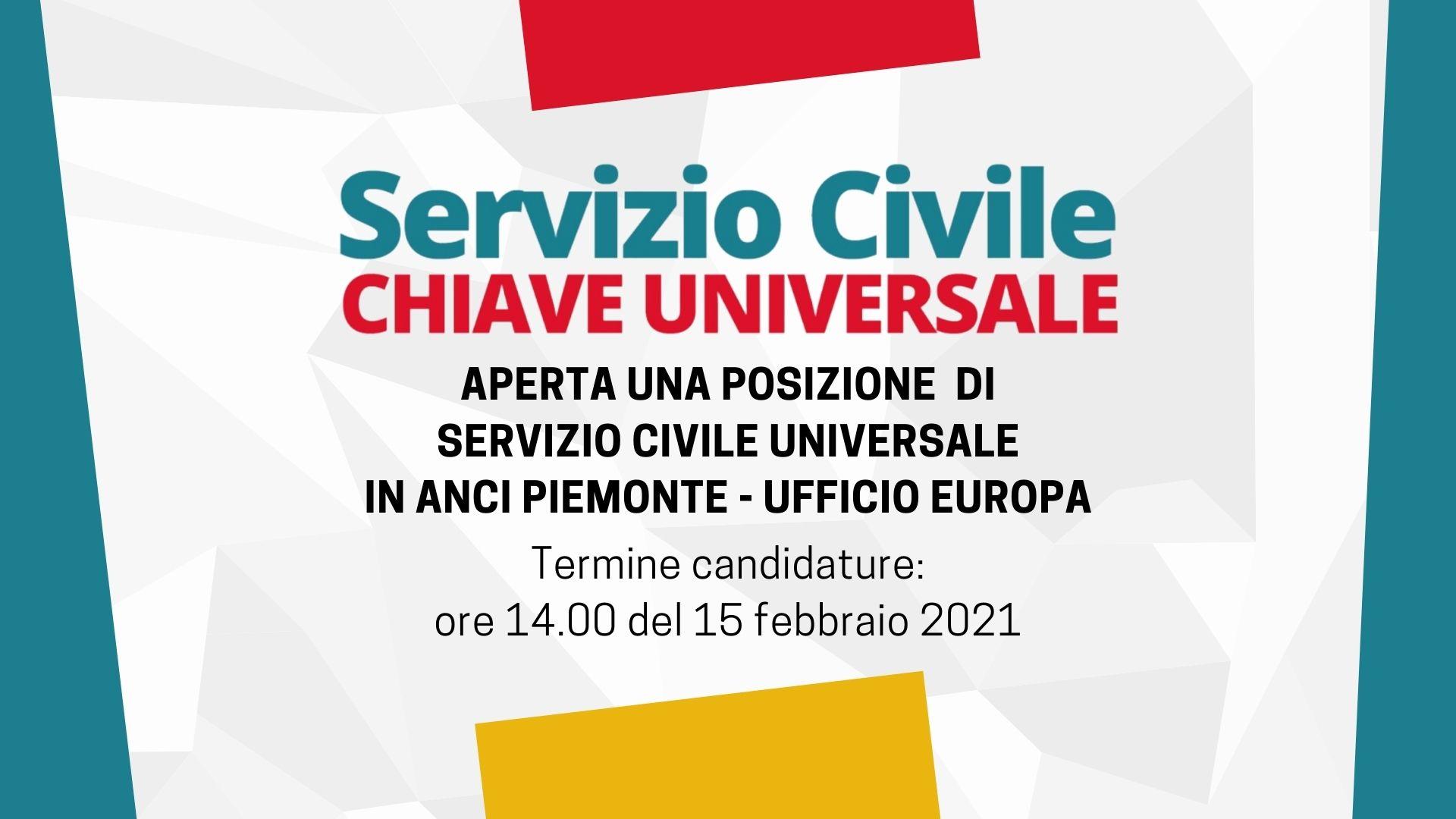 SCU in ANCI Piemonte