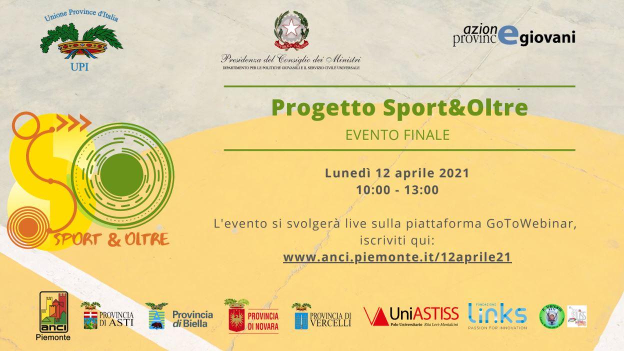 Sport e oltre 12 aprile