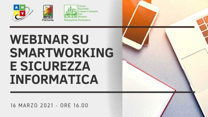 Webinar su smartworking e sicurezza informatica