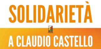 Solidarietà a claudio castello