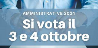 Amministrative 2021