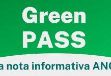 Green PASS-Nota informativa