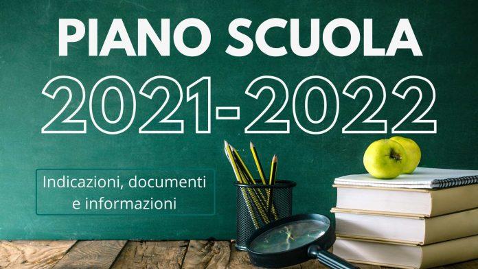 PIANO SCUOLA 2021 2022
