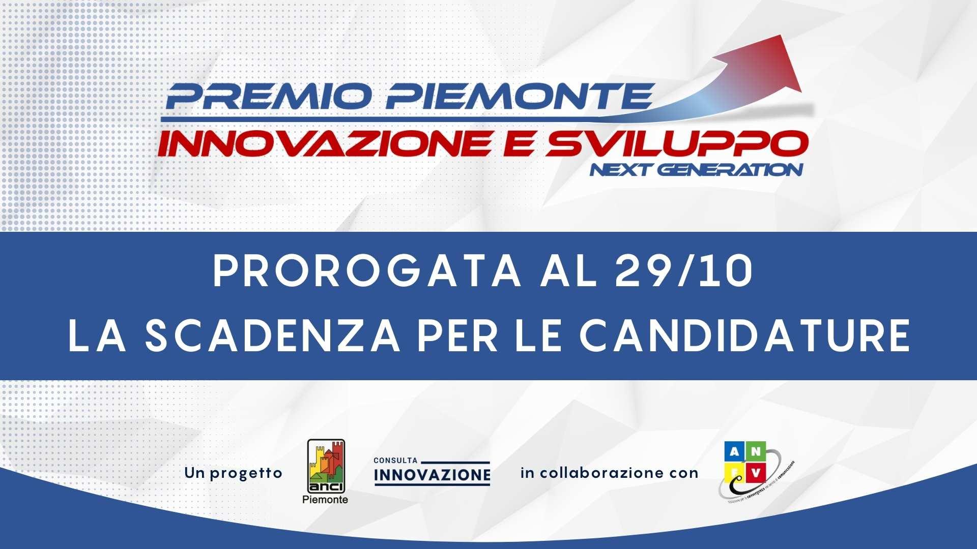Proroga Piemonte Innovazione 2021